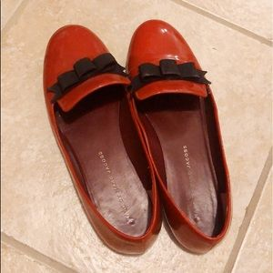 [MARC BY MARC JACOBS] RED RIBBON FLATS - Size 7